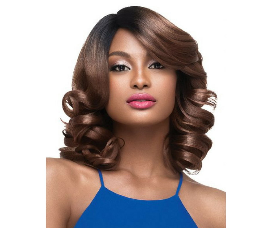 Outre Synthetic Hair Full Cap Quick Weave Complete Cap Deep Part Julia